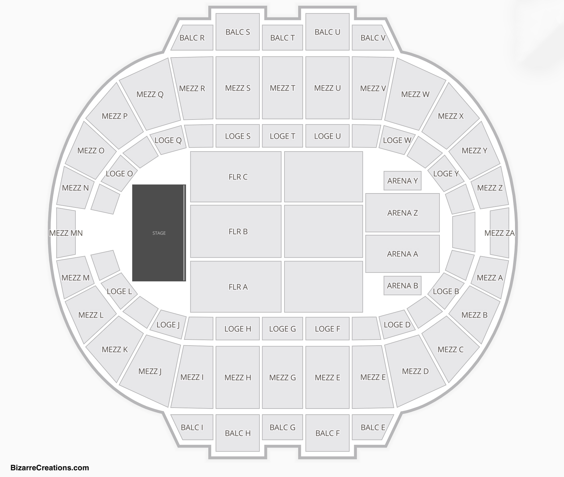 Hampton Coliseum Seating Chart Concert