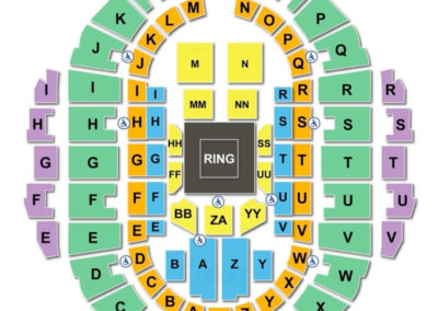 Hampton Coliseum Seating Chart Wrestling