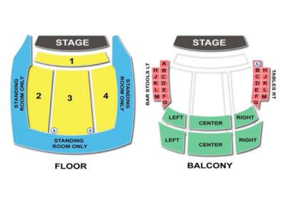 Hard Rock Orlando Seating Chart