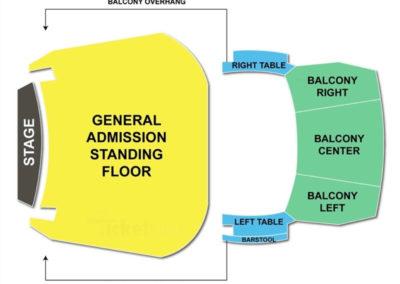 Hard Rock Orlando Seating Chart Concert