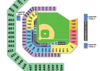 Hard Rock Stadium Baseball Seating Chart