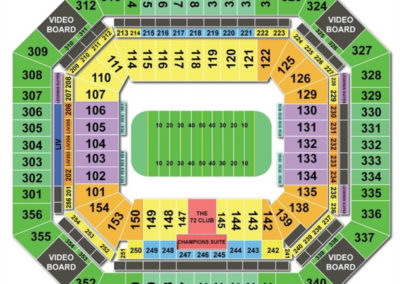 Hard Rock Stadium Football Seating Chart