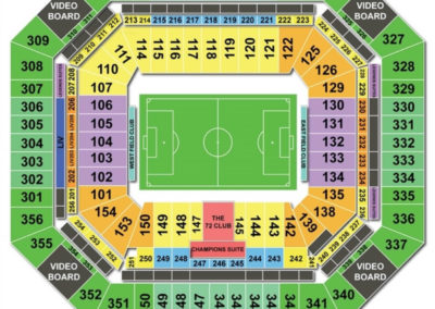 Hard Rock Stadium Soccer Seating Chart