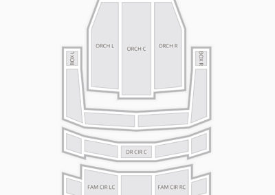 Heinz Hall for the Performing Arts Seating Chart