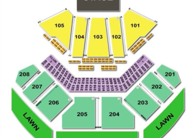 Hollywood Casino Amphitheatre Seating Chart - Tinley Park