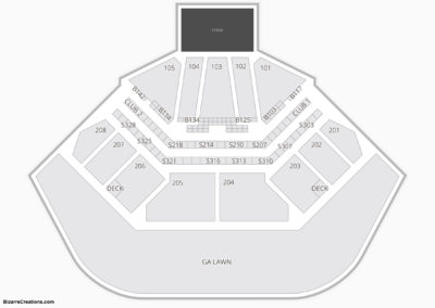 Hollywood Casino Amphitheatre Seating Chart Tinley Park, IL