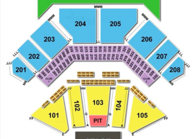 Hollywood Casino Amphitheatre Tinley Park Seating Chart