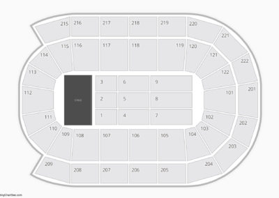 Huntington Center Concert Seating Chart