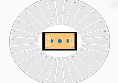 Iowa Hawkeyes Seating Chart Basketball