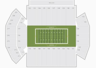 Iowa Hawkeyes Football Seating Chart