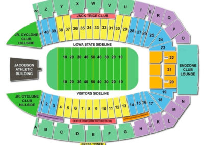 Jack Trice Stadium Seating Chart