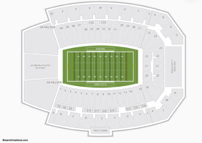 Jack Trice Stadium Seating Chart Football