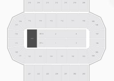 James Brown Arena Seating Chart Concert