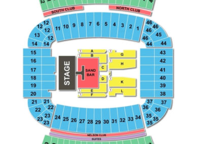 Jordan-Hare Stadium Concert Seating Chart