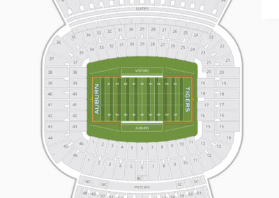 Jordan-Hare Stadium Seating Chart