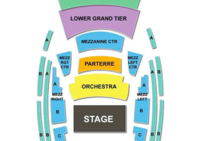 Kauffman Center for the Performing Arts Seating Chart