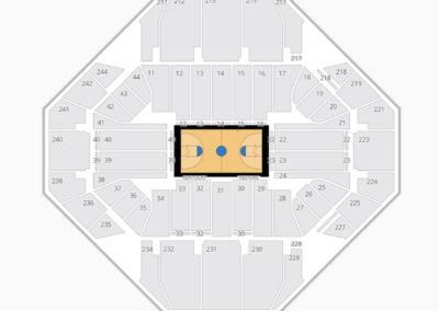 Kentucky Wildcats Basketball Seating Chart