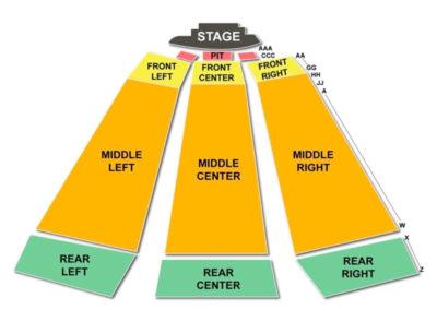 Keswick Theatre Seating Chart Glenside