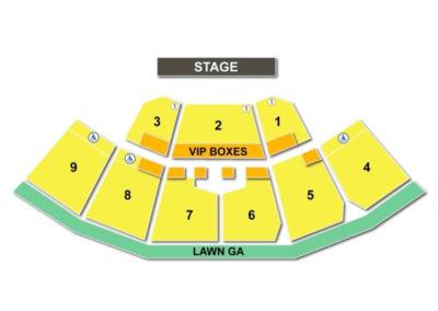 KeyBank Pavilion Seating Chart