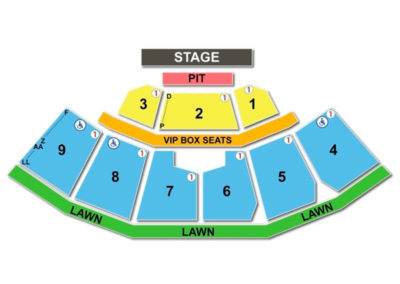 KeyBank Pavilion Seating Chart Concert 3