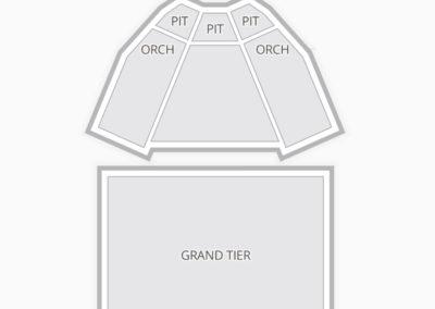 King Center Seating Chart