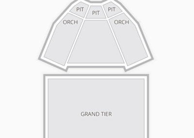 King Center for the Performing Arts Seating Chart Concert