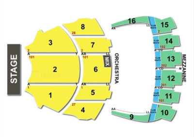 Kings Theatre Brooklyn Seating Chart