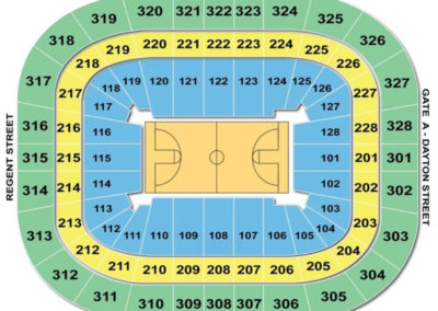 Kohl Center Seating Chart Basketball