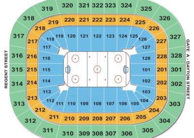 Kohl Center HoKohl Center Seating Chart Hockeyckey Seating Chart