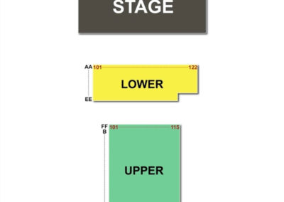 Kravis Center Seating Chart - Rinker Playhouse