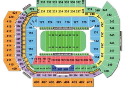 Kyle Field Football Seating Chart