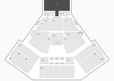 Laughlin Event Center Seating Chart