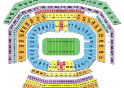 Levis Stadium San Francisco Bowl Seating Chart