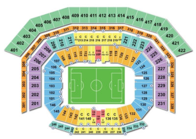 Levi's Stadium Soccer Seating Chart
