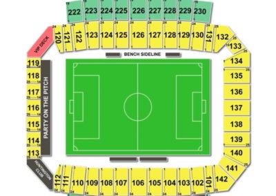 MAPFRE Stadium Seating Chart