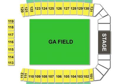 MAPFRE Stadium Seating Chart Concert