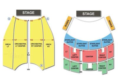 Majestic Theatre Seating Chart San Antonio