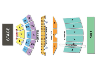 Mann Center Music Seating Chart