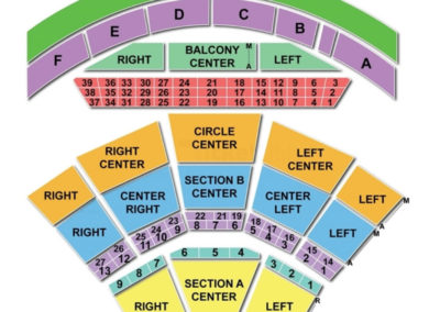 Mann Center for the Performing Arts Seating Chart
