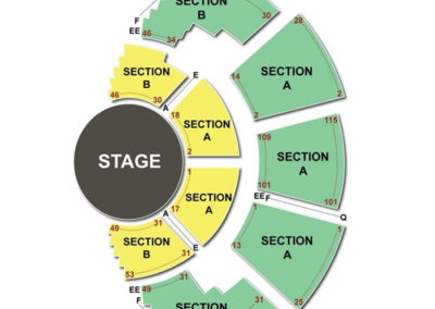 Mark Taper Forum Seating Chart Theater