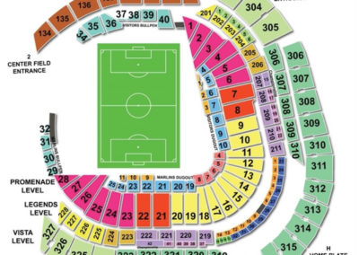 Marlins Park Soccer Seating Chart