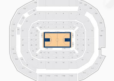McKale Center Seating Chart Concert