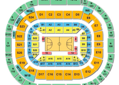 McKale Center Seating Chart - Tucson
