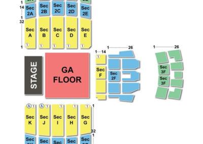 Memorial Gymnasium Seating Chart