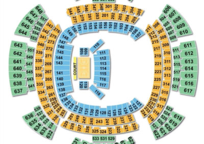 Mercedes-Benz Superdome Basketball Seating Chart