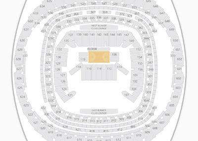 Mercedes-Benz Superdome Seating Chart NBA