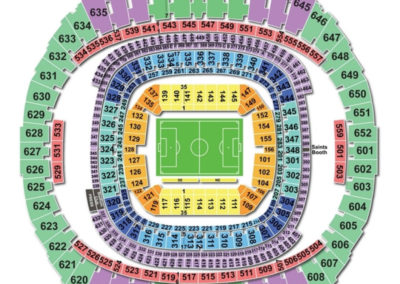 Mercedes-Benz Superdome Soccer Seating Chart