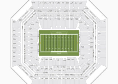 Miami Hurricanes Football Seating Chart