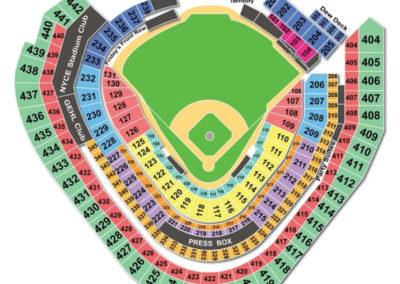Miller Park Baseball Seating Chart