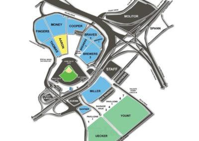 Miller Park Parking Lots